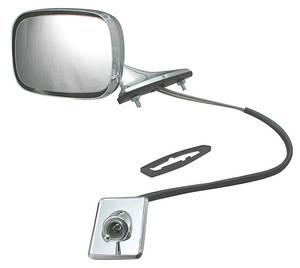1969-1972 El Camino Mirrors, 1969-72 El Camino Chrome Remote