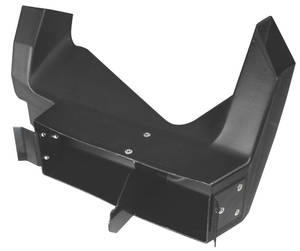 1968-72 Chevelle Air Deflector Duct, Interior Lower