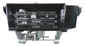 1966-1967 El Camino Heater Control Assembly, 1966-67