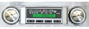 1964 Chevelle Stereo, Vintage Car Audio 300 Series Black