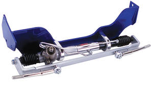 1969-1972 Grand Prix Steering Kit; Rack & Pinion (Grand Prix) Manual w/Keyed Column, by Flaming River