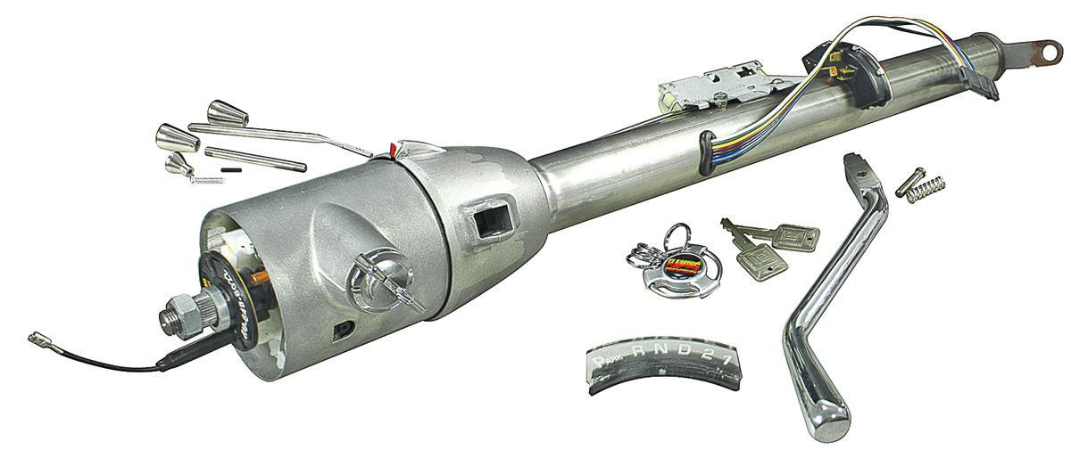 """Photo of LeMans Steering Column (Tilt Steering) Paintable column shift, 1""""- 48"""