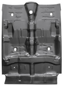 1964-67 Floor Pan, Complete Chevelle- w/o Braces, w/o Rockers
