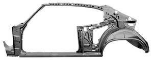 1970-72 Frame & Door Frame Assembly Chevelle