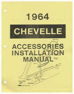 1964-1964 Chevelle Accessory Installation Manual