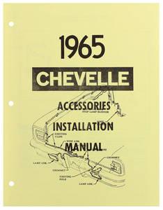 1965 El Camino Accessory Installation Manual