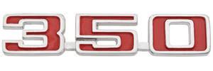 "1973-1975 Chevelle Fender Emblem, 1973-75 ""350"""