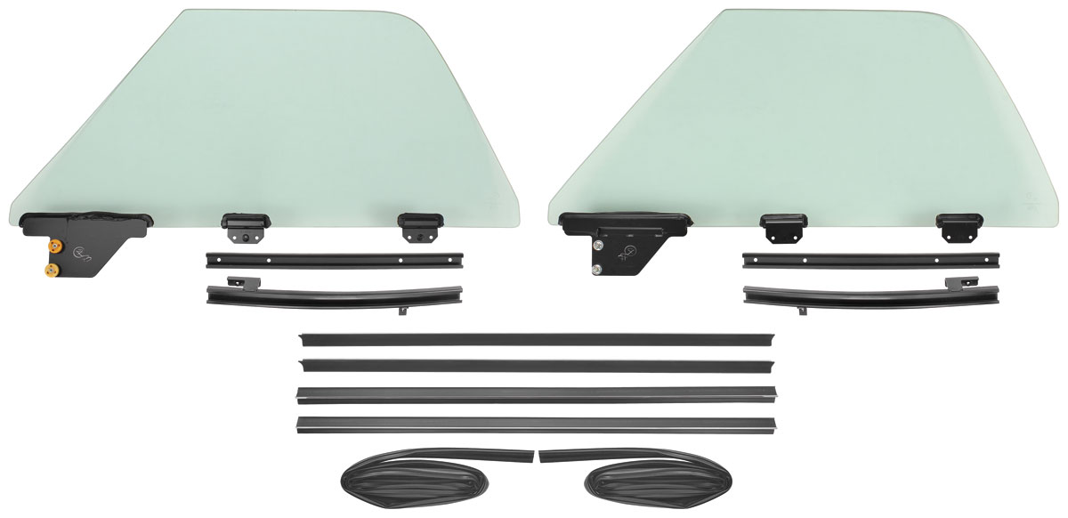 1968 72 window kits el camino one piece for 1970 chevelle power window kit