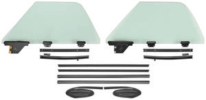 1968-72 Window Kits, El Camino One-Piece