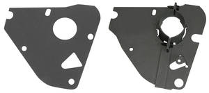 1970-72 Monte Carlo Steering Column Clamp Plates, Lower (Automatic Transmission, Includes Gasket)