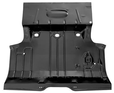 1964-65 Chevelle Trunk Floor, Complete (Weld-Thru)