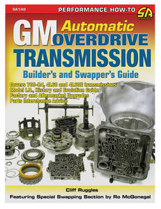 1954-1976 Cadillac GM Automatic Overdrive Transmission Builder'S and Swapper'S Guide