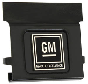 1968-71 Seat Belt Push-Button (Grand Prix) All Models, GM Mark of Excellence Emblem