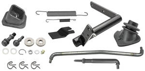1967 Chevelle Clutch Bellcrank Linkage Kit Small-Block, by RESTOPARTS