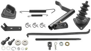 1968-1972 Chevelle Clutch Bellcrank Linkage Kit All, by RESTOPARTS
