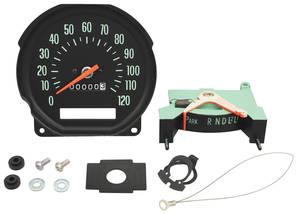 1970 Chevelle Speedometer Column Shift, w/Round Gauges