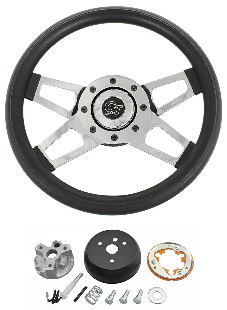 Photo of Steering Wheel, Challenger Series Chrome Wheel w/o tilt