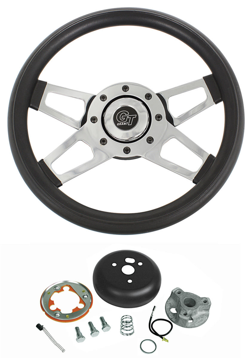 Photo of Steering Wheel, Challenger Series (Chrome Spokes)