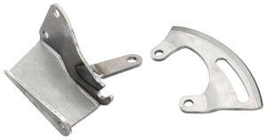 1970-72 Chevelle Power Steering Pump Bracket Set, Big-Block 2-Piece