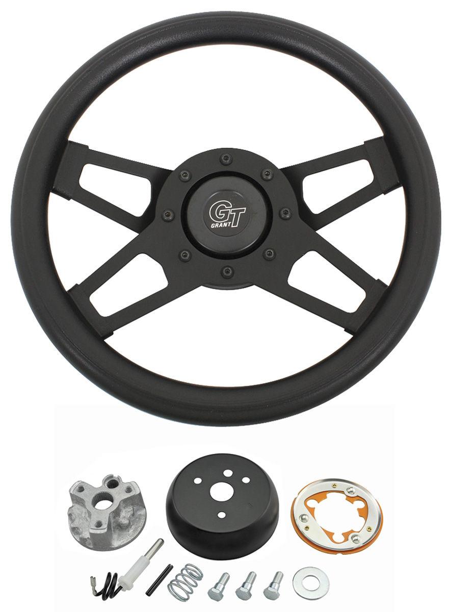 Photo of Steering Wheel, Challenger Series Black Wheel