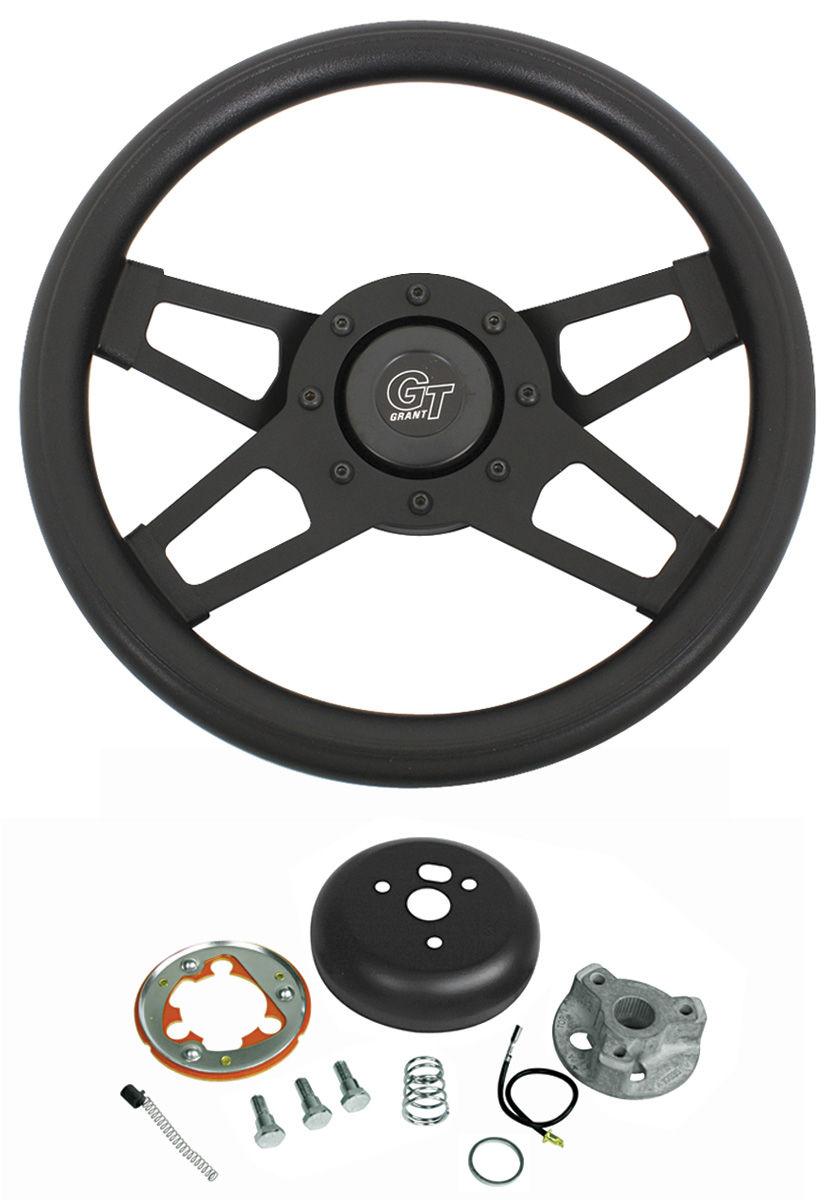 Photo of Steering Wheel, Challenger Series (Black Spokes)