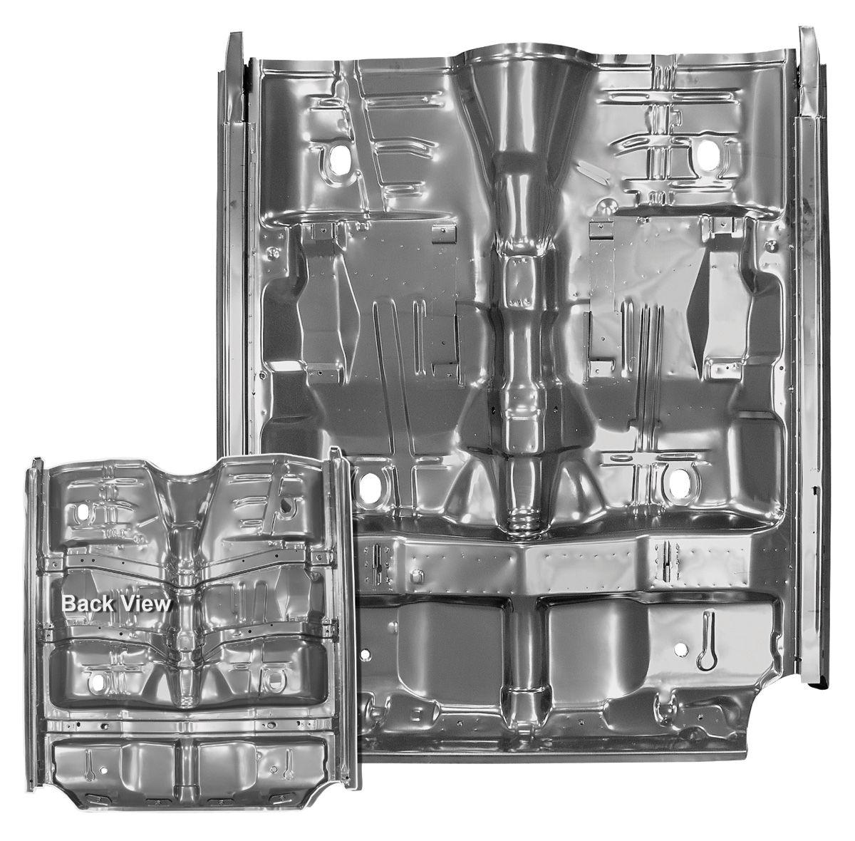Photo of Floor Pan, Complete (with Braces & Rocker Panels)