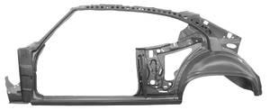 1968 Frame & Door Frame Assembly Chevelle