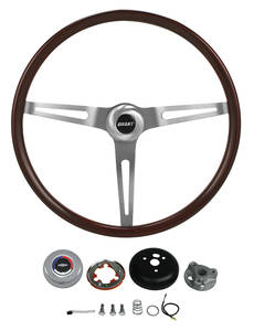 1978-1988 El Camino Steering Wheel, Classic Wood, by Grant