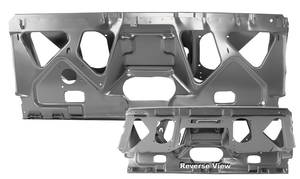 Chevelle Seat Mount Panel, 1970-72 Convertible Rear, by RESTOPARTS