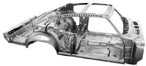 Body Skeleton, 1970 Chevelle Coupe