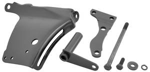 1969-1972 El Camino Alternator Bracket Set Small-Block Black (7-Piece)