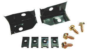 Chevelle Headlight Extension Mounting Brackets, 1970