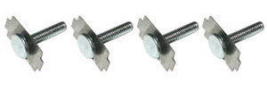 1964-73 LeMans Speaker Mounting Studs, Rear 4-Piece