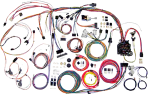 1970-1972 El Camino Wiring Kit, Classic Update, by American Autowire