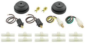 1964-1967 Chevelle Electrical Accessory Rear Body Connection Kit (El Camino/Wagon), by American Autowire