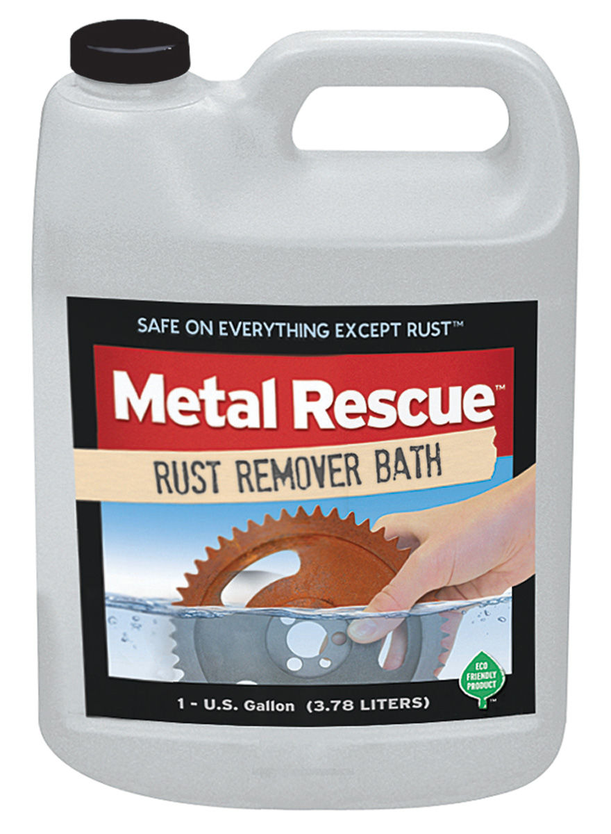Photo of Metal Rescue Rust Removal Solution (One-Gallon)