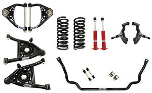 1973-77 El Camino Suspension Speed 1 Kit, Front Small Block/LSX, by Detroit Speed