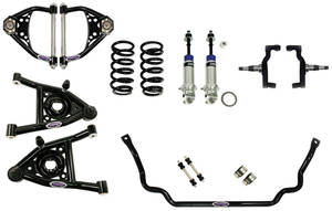 1967-1967 Chevelle Suspension Speed 2 Kit, Front Small Block/LSX, by Detroit Speed