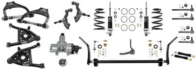 1971-1972 Monte Carlo Suspension Speed 3 Kit, Front (Small-Block/LSX), by Detroit Speed