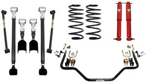 1964-66 Tempest Suspension Speed 2 Kit, Rear