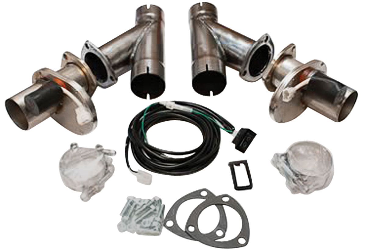 Photo of Exhaust Cutouts, Electric 3""