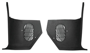 1964-66 Cutlass Kick Panels, For Non-Air Equipped Vehicles