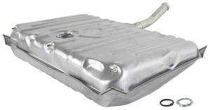 1971-72 Monte Carlo Fuel Tank (Galvanized) 3 Vents, 17-Gallon