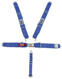 1961-1973 LeMans Seat Belt; Standard Latch & Link Individual Mount, by Crow Enterprizes