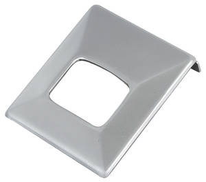 1966-68 Grand Prix Seat Belt Buckle Cover, Deluxe