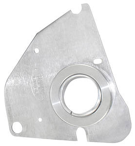 1970-1972 Monte Carlo Steering Column Accessory (Tilt Steering) Floor Mount Plates - Swivel Aluminum, by Flaming River