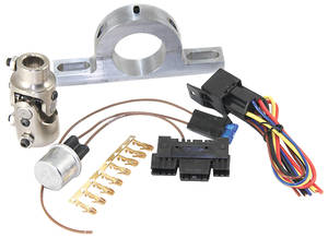 "1964-1972 Skylark Steering Column Accessory (Tilt Steering) Steering Column To Shaft U-Joint 1"" DD - 3/4"" DD (Billet U-Joint)"