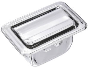 "1968-1972 Cutlass Ash Tray (Rear Armrest) Coupe/Convertible (2-7/8"" X 1-3/4""), by RESTOPARTS"