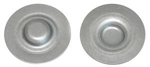 1968-72 GTO Floor Pan Drain Plug, Interior Rear Seat