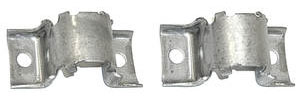 1964-77 Cutlass Stabilizer Shaft Brackets, Front Gray Phosphate